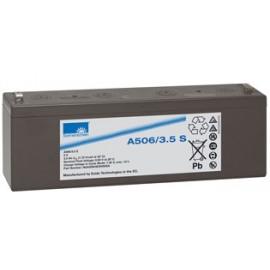 EXIDE Sonnenschein 6V - 3,5Ah - Dryfit A500 - Bac VO - A506/3.5S