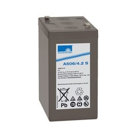 EXIDE Sonnenschein 6V - 4,2Ah - Dryfit A500 - Bac VO - A506/4.2S