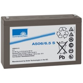 EXIDE Sonnenschein 6V - 6.5Ah - Dryfit A500 - Bac VO - A506/6.5S