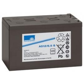 EXIDE Sonnenschein 12V - 6.5Ah - Dryfit A500 - Bac VO - A512/6.5S