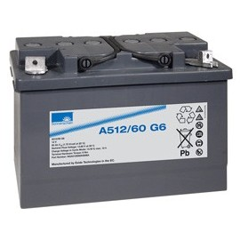 EXIDE Sonnenschein 12V - 60Ah - Dryfit A500 - G6 - A512/60G6
