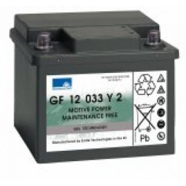 EXIDE Sonnenschein 12V - 33,0Ah - Dryfit A500C - B Auto - GF12033Y2