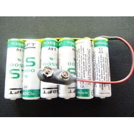 CHRONO PACK Pile Lithium 3LS14500 - PRESTO - 10,8V