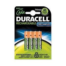 DURACELL HR03 - AAA 800mAh - Blister x 4 - Technologie PRET A L'EMPLOI