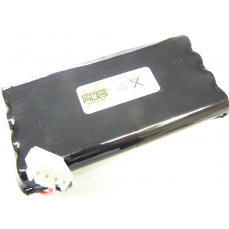 CHRONO PACK Batterie NiMh 7.2V - 3800mAh - Electrocardiographe FUKUDA FX 7102