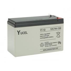 YUASA / YUCEL 12V - 7.0Ah - Y7-12 - AGM