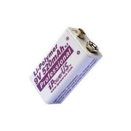I POWER US 9V - Format 6LR61 - iPOWERUS - Li Po - 520mAh