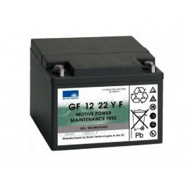 EXIDE Sonnenschein 12V - 22,0Ah - Dryfit A500C - G5 - GF12022YF