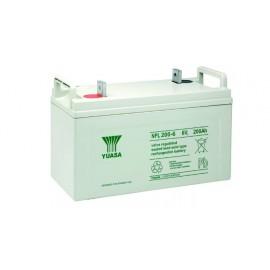 YUASA Batterie plomb - AGM - NPL200-6 - 6V, 200Ah