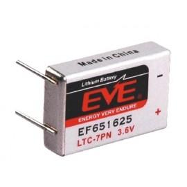 Pile Lithium Prismatique 3.6V – LTC-7 - EF651625