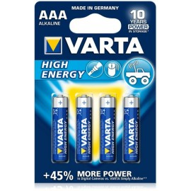 VARTA LR03 - AAA High Energy - UM4 - Blister x 4