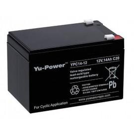 YUASA 12V - 14Ah - YPC14-12 Cyclage