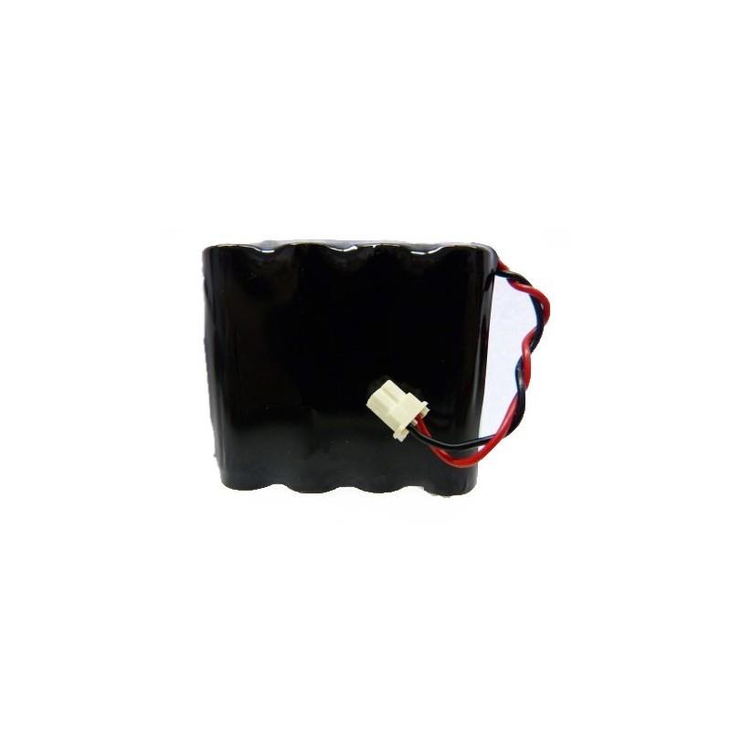 batterie alarme compatible surtec i n aa 4 8v 1 5ah connecteur. Black Bedroom Furniture Sets. Home Design Ideas