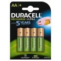 DURACELL HR06 - AA 2400mAh - Blister x 4
