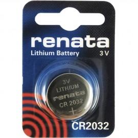 RENATA Pile Bouton Lithium - CR2032 Standard - BATLI09