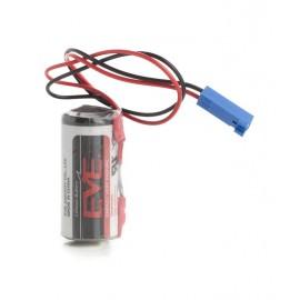 CHRONO Pile Lithium ER14335 - 2/3AA - 3,6V + Connecteur SIEMENS & PIETROCUCCHI