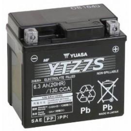 YUASA Batterie Moto- 12V / 6Ah - YTZ7S / GTZ7S