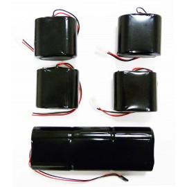 CHRONO Pack de piles 1 x DSP10 + 4 x DSP80 pour alarme piscine
