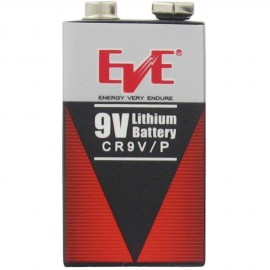 EVE 9V - 1.25Ah - Format 6LR61 - Lithium - CR9V - Lot de 48 piles