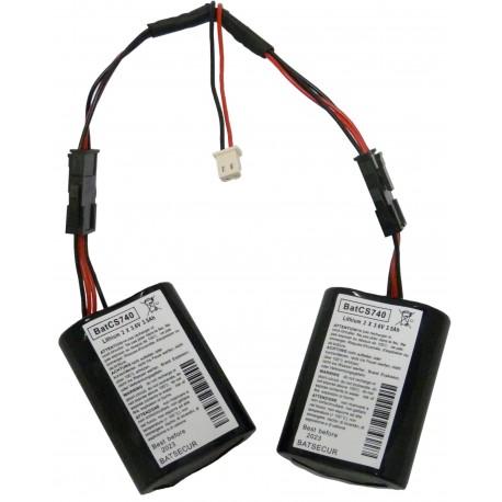 Kit de 2 batteries MCS740