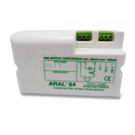 Chrono Pack Batterie NiMh AA 12.0V 1.7Ah + Cosses à trou - ARAL 63 - 64