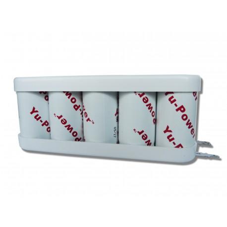 Batterie compatible SAFT - 10VTC 2200 /10KRMT 26/50 12v 2.2Ah
